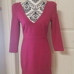 TED BAKER LONDON 3/$ VCut Dress 2 EUC